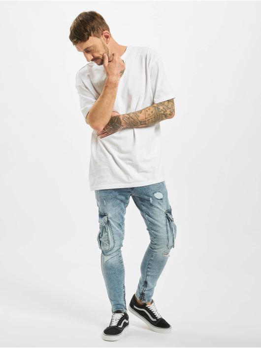 2Y Slim Fit Jeans Leon blauw
