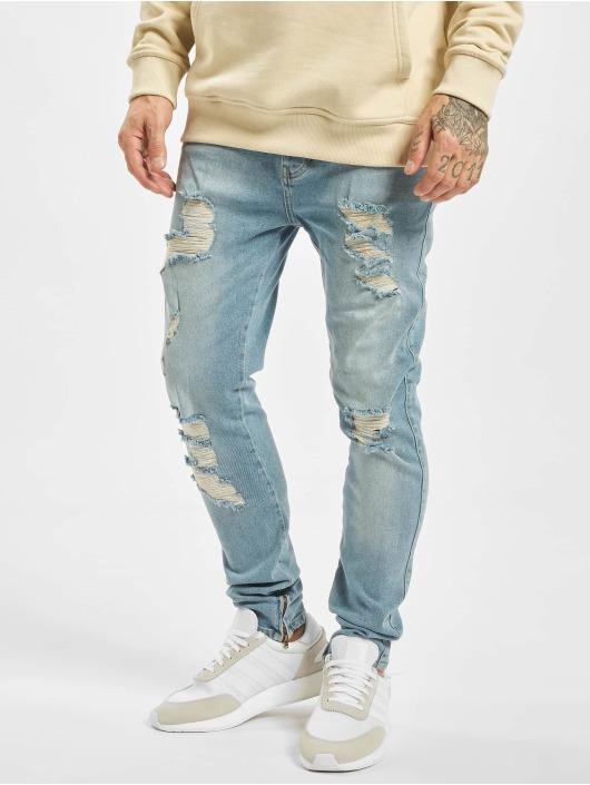 2Y Slim Fit Jeans Diego blauw