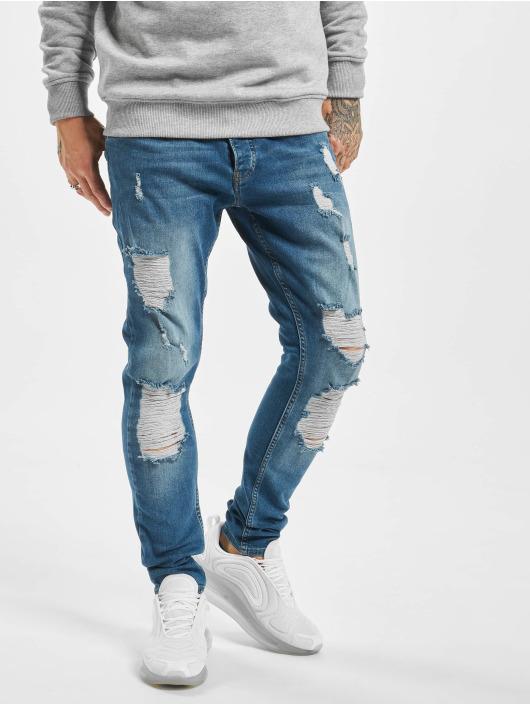 2Y Slim Fit Jeans Efe blauw