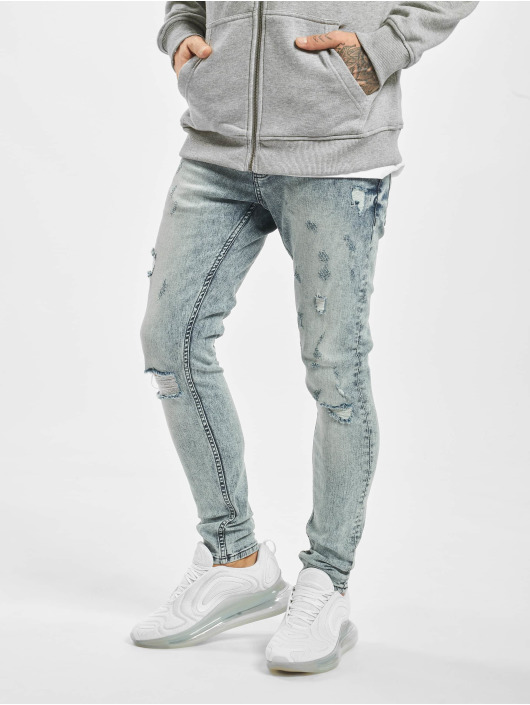 2Y Slim Fit Jeans Dario blauw