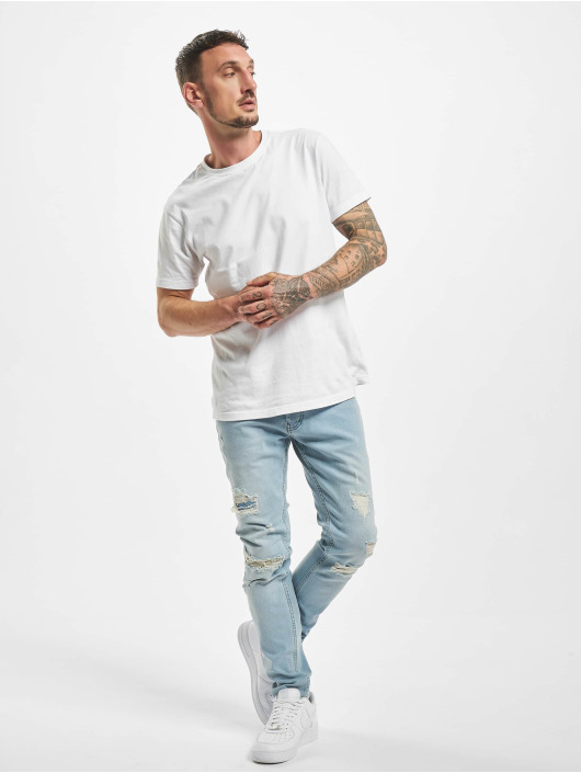 2Y Slim Fit Jeans Raul blauw