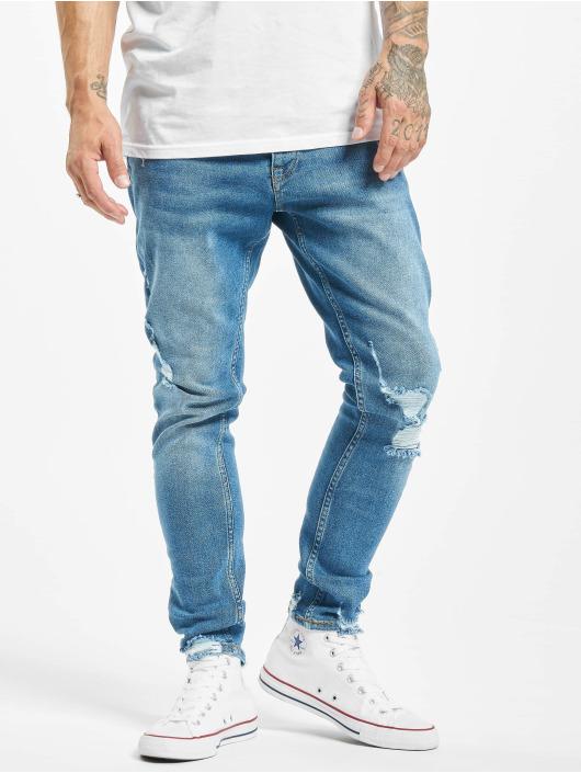 2Y Slim Fit Jeans Mesut blauw