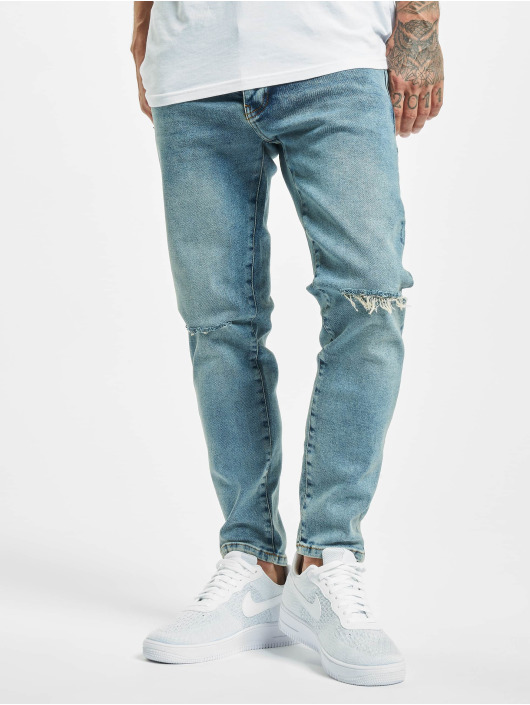 2Y Slim Fit Jeans Ezel blauw