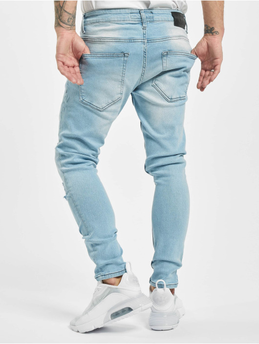 2Y Slim Fit Jeans Anton blauw