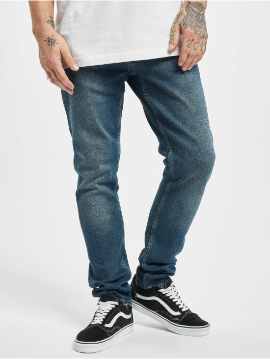 2Y Slim Fit Jeans Jörg blauw