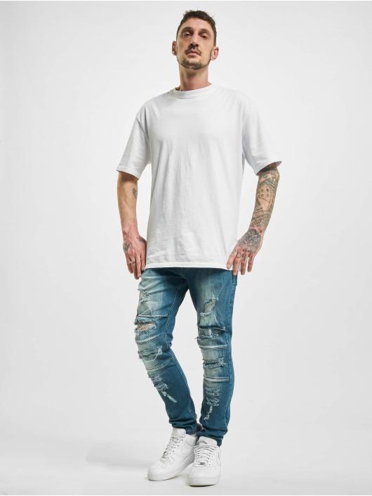 2Y Slim Fit Jeans Elkin blauw