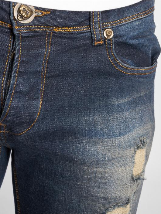 2Y Slim Fit Jeans Destroyed blue