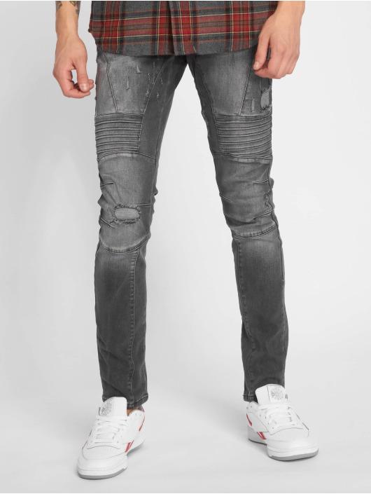 2Y Slim Fit Jeans Polles grå
