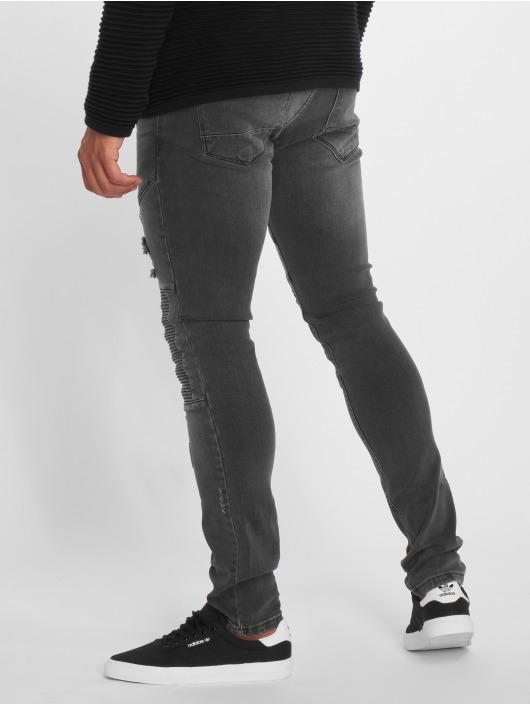 2Y Slim Fit Jeans Liso grå