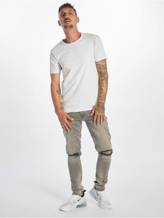 2Y Slim Fit Jeans Jerry grå