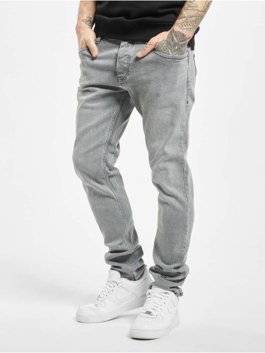 2Y Slim Fit Jeans Cem grå
