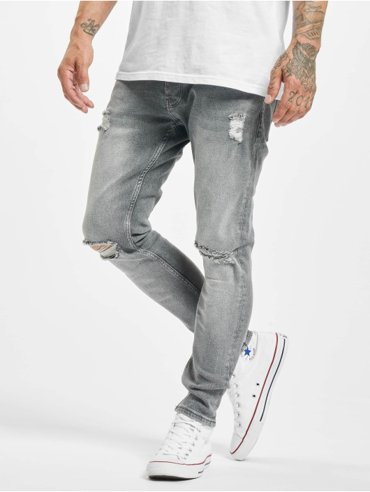 2Y Slim Fit Jeans Alaz grå