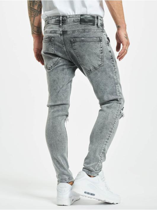 2Y Slim Fit Jeans Junus grå