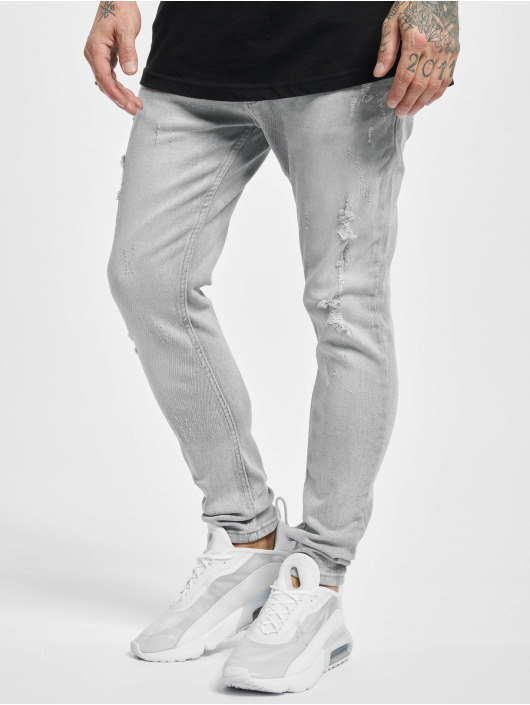 2Y Slim Fit Jeans Roy grå