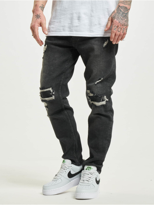 2Y Slim Fit Jeans Elvir grå