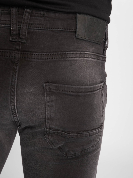 2Y Slim Fit Jeans Ron grau