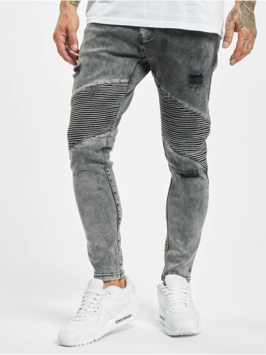 2Y Slim Fit Jeans Ediz grau