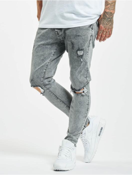 2Y Slim Fit Jeans Junus grau