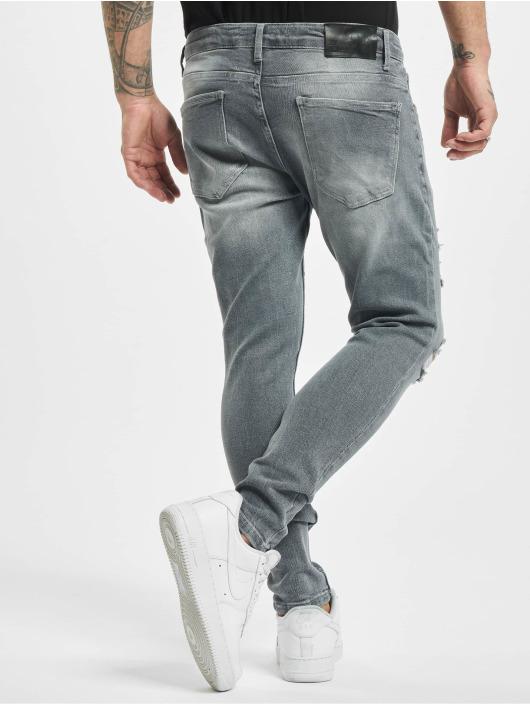 2Y Slim Fit Jeans Stan grau