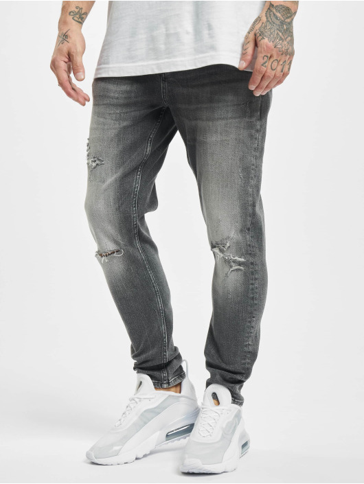 2Y Slim Fit Jeans Jo grau