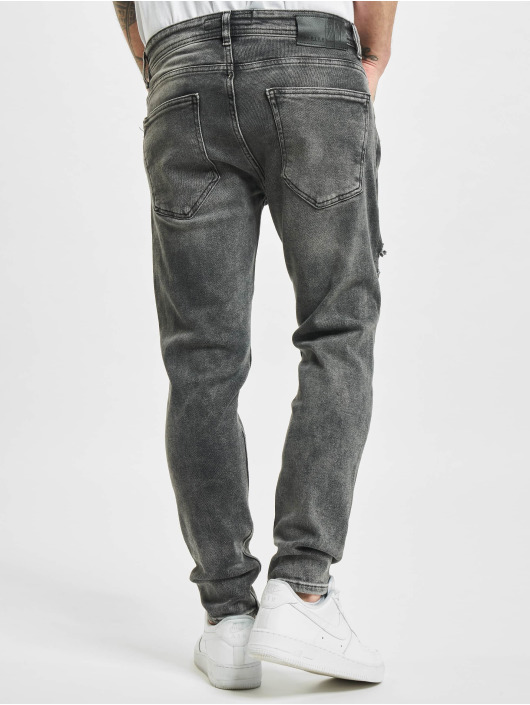 2Y Slim Fit Jeans Riverside grau