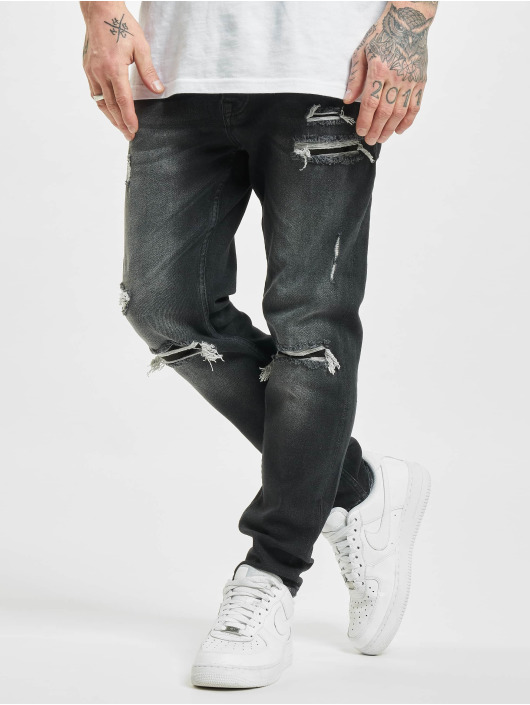 2Y Slim Fit Jeans Richmond grau