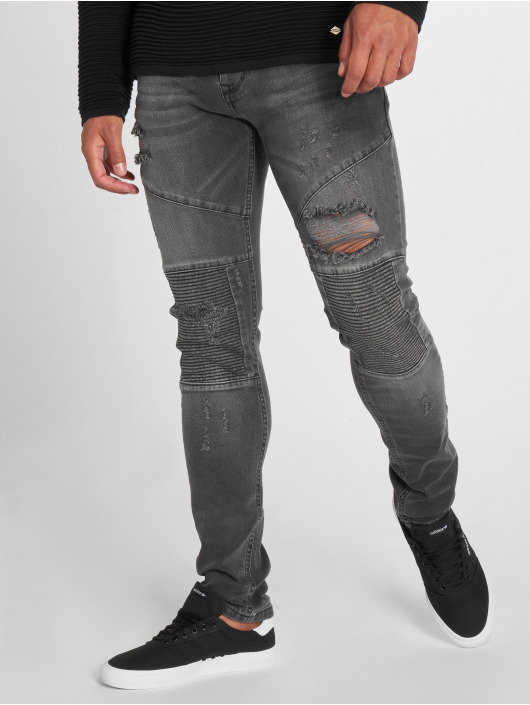 2Y Slim Fit Jeans Liso grey