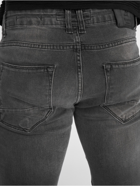 2Y Slim Fit Jeans Liso grijs