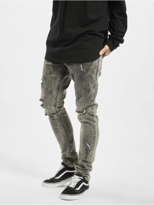2Y Slim Fit Jeans Samuel grijs