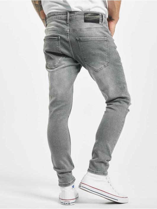 2Y Slim Fit Jeans Alaz grijs