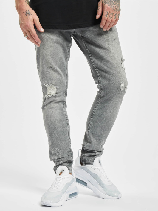 2Y Slim Fit Jeans Kurt grijs