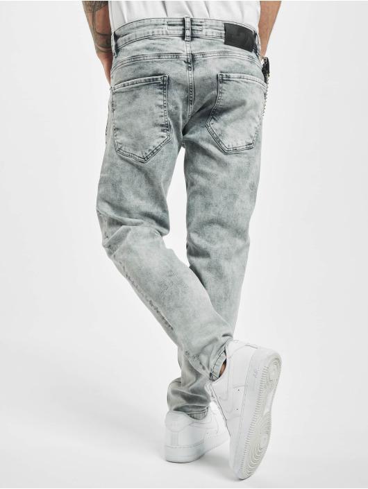 2Y Slim Fit Jeans Grayson grijs