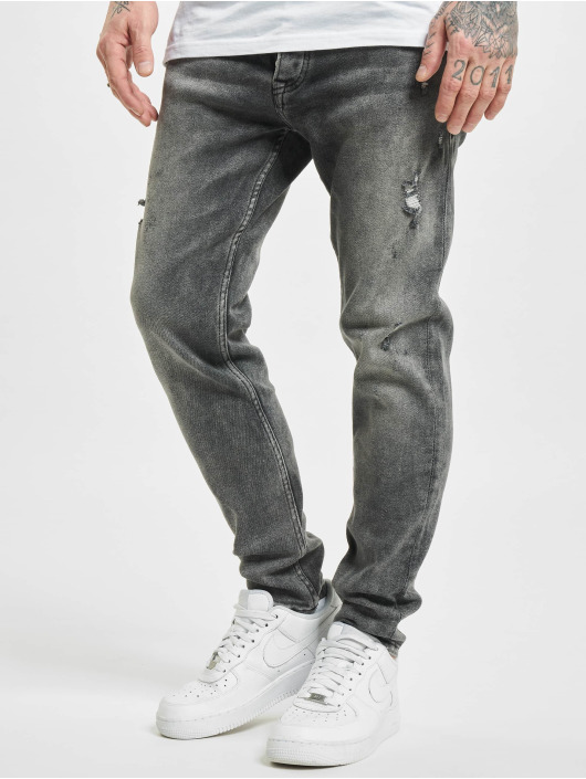 2Y Slim Fit Jeans Riverside grijs