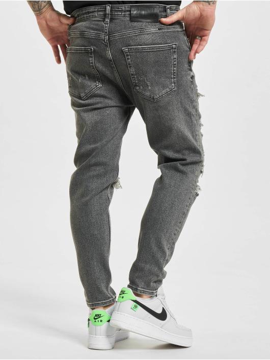 2Y Slim Fit Jeans Okan grijs
