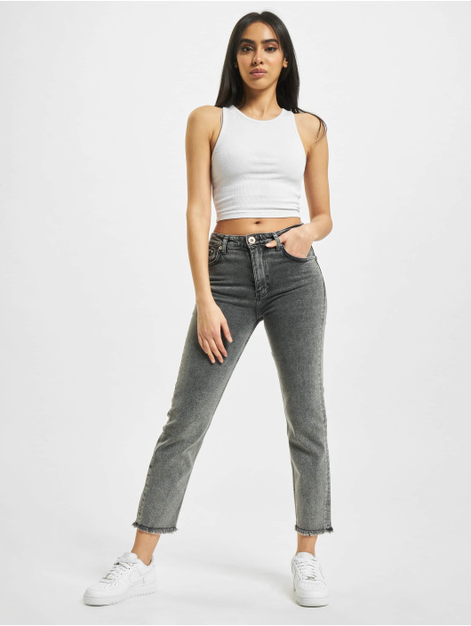 2Y Slim Fit Jeans Ronja grijs