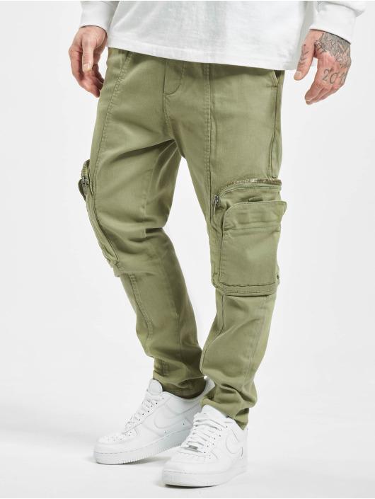 2Y Slim Fit Jeans Metin hnědožlutý