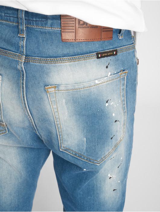 2Y Slim Fit Jeans Carlo modrá