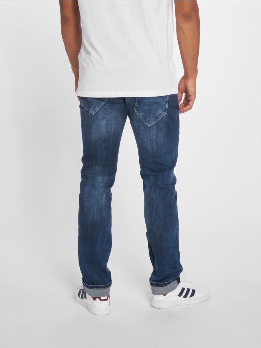 2Y Slim Fit Jeans Used modrá