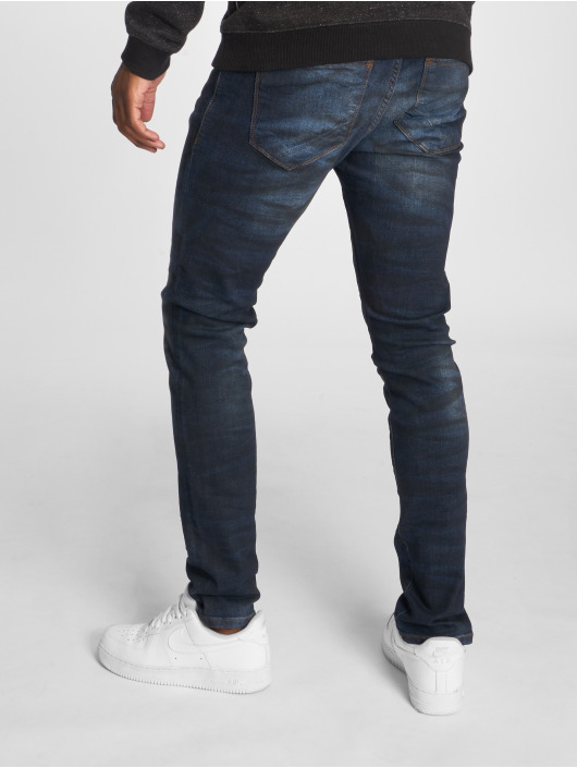 2Y Slim Fit Jeans Dirt modrá