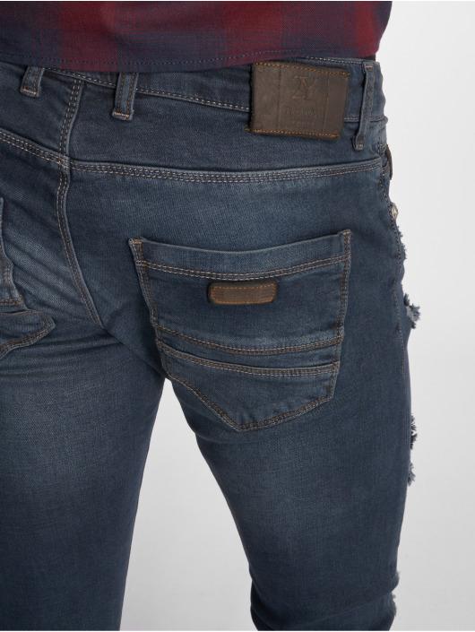 2Y Slim Fit Jeans Slim Fit modrá