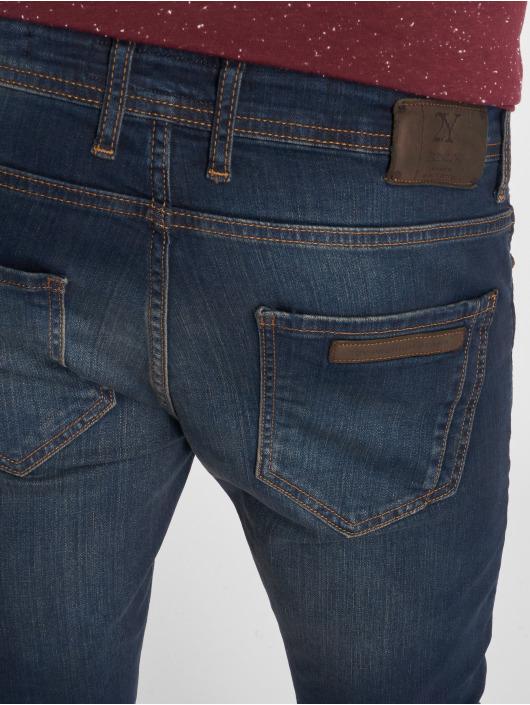 2Y Slim Fit Jeans Lion modrá