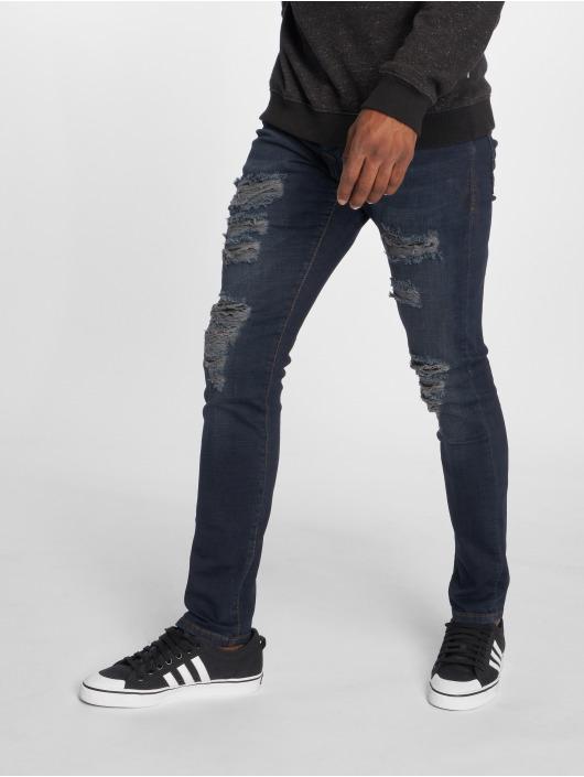 2Y Slim Fit Jeans Jon modrá