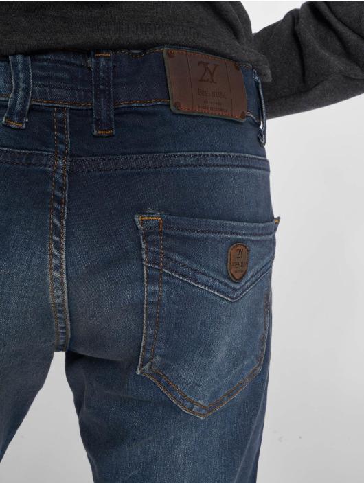 2Y Slim Fit Jeans Len modrá
