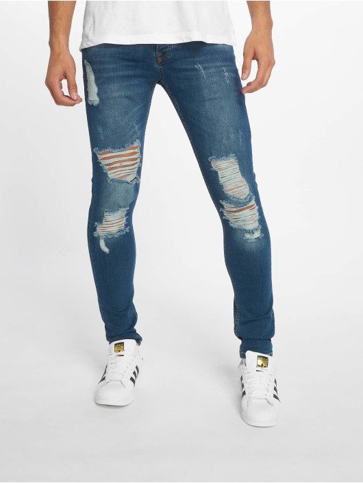 2Y Slim Fit Jeans Curtis modrá