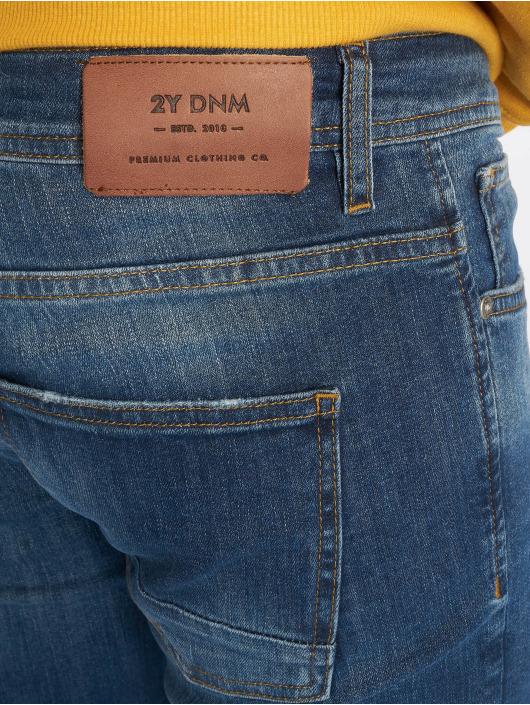 2Y Slim Fit Jeans Lenny modrá