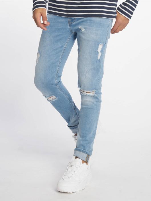 2Y Slim Fit Jeans Miles modrá