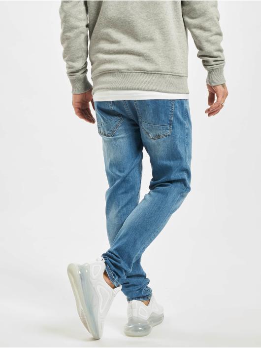 2Y Slim Fit Jeans Dean modrá