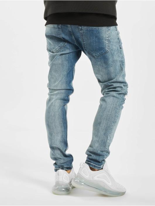 2Y Slim Fit Jeans Jim modrá