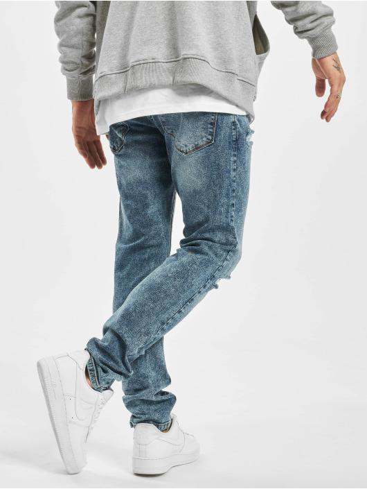 2Y Slim Fit Jeans Kjell modrá