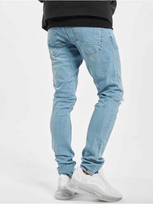 2Y Slim Fit Jeans Yven modrá